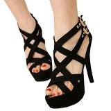 FABIAN ZIAH SHOP Highheels Gladiator Size 40 [AT05] - Heels Wanita