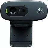 LOGITECH Webcam C170 - Black - Web Cam Clip-on