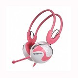 KEENION Headset [KDM 808] - Pink - Headset Pc / Voip / Live Chat