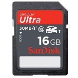 SANDISK Ultra SDHC 16GB Class 10 (Merchant) - Secure Digital / Sd Card