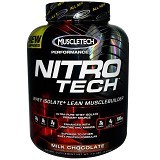 MUSCLETECH Nitrotech Whey Protein 4 lbs - Chocolate - Suplement Peningkat Metabolisme Tubuh