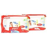 PIGEON Baby Wipes 70 Sheets 2 Pack [3217] - Baby Wipe / Tissue Basah