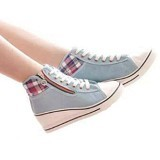 GALLERY FANNY SHOP Sneakers Size 39 [GWS-848] - Grey - Sneakers Wanita