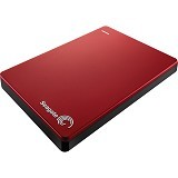 SEAGATE Backup Plus Slim External Portable 2TB USB3.0 - Red - Hard Disk External 2.5 inch