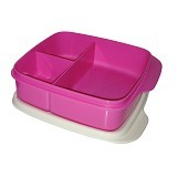 TUPPERWARE Lolly Tup - Pink - Lunch Box / Kotak Makan / Rantang