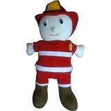 HANUN TOYS Boneka Tangan Profesi Pemadam Kebakaran - Boneka Kain