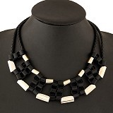 MBIMBEMSHOP Kalung Korea Chain - Black Gold - Kalung / Necklace
