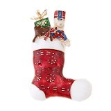 MBIMBEMSHOP Aksesoris Natal Bross Boots Christmas - Red - Bros