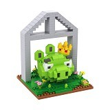 LOZ Gift Large Angry Bird Kingpig [9519] - Building Set Movie