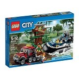 LEGO City Hovercraft Arrest [60071] - Building Set Transportation