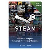 STEAM WALLET IDR 12.000 Digital Code - Tiket & Voucher