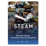STEAM WALLET IDR 600.000 Digital Code - Voucher Games