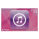 APPLE iTunes Gift Card 15$ Digital Code - Tiket & Voucher