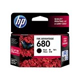 HP Black Original Ink Advantage Cartridge 680 (F6V27AA)