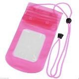 29 SELULER Waterproof Bags Case Universal - Pink - Sarung Handphone / Pouch