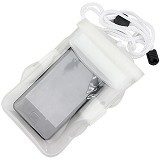 29 SELULER Waterproof Bags Case Universal - White - Sarung Handphone / Pouch