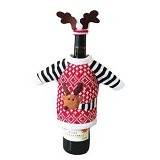2M SISTERS Cartoon Snowman Wine Cooler [02567F] - Red (Merchant)