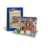 CUBIC FUN Holiday Villa [3121H] - 3D Puzzle