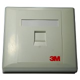 3M Face Plate 1 Port - Faceplate