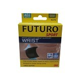3M Futuro Sport Wrap Around Wrist Support ADJ [46378EN] - Black (Merchant) - Pelindung Pergelangan Tangan / Wrist Support