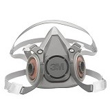 3M Half Facepiece Reusable Respirator Size Medium 6200