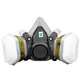 3M Mask Respirator [6200] + Filter Multi Gas [6006] (Merchant) - Masker Kesehatan