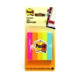 3M Post It Color Notes 670-5AN Neon - Sticky Flags