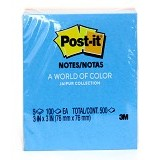 3M Post-it Color Notes Jaipoor [654-5Uc] - Sticky Notes