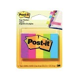 3M Post-it Page Markers 670-AN - Multicolor (Merchant) - Sticky Notes