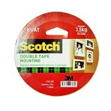 3M Scotch 110-3B Mounting Tape 12MM x 3M - Isolasi / Solatip