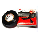 3M Scotch 1500 GU  Vinyl Tape - Hitam - Isolasi Kabel