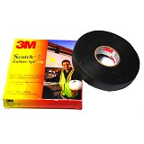 3M Scotch 23 Vinyl Tape Linered Rubber Splicing - Hitam - Isolasi Kabel
