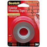 "3M Scotch 4011 Mounting Tape Outdoor 24MM x 60"" - Isolasi / Solatip"