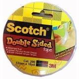 3M Scotch CAT.200 Double Sided 12MM x 10Y - Isolasi / Solatip