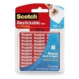 3M Scotch R100 CS Resticable Shapes Tapes - Isolasi / Solatip