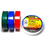 3M Scotch Super 35 Vinyl Tape Color Coding - Isolasi Kabel