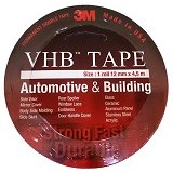3M VHB Automotive Tape Size 12 mm x 4.5 m [4900] (Merchant) - Perekat Otomotif