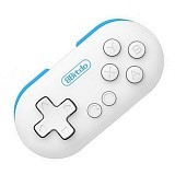 8BITDO Zero Mini Portable Bluetooth Gamepad [OMGA03WH] -White (Merchant) - Gaming Pad / Joypad