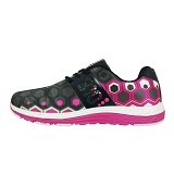 910 Apollo Women Size 37 - Black / Hot Pink / White (Merchant) - Sepatu Lari Wanita