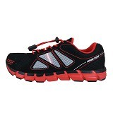 910 Kaza Bg Kid Size 36 - Black / Red / White (Merchant) - Sepatu Anak