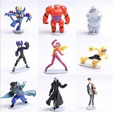 A1TOYS Action Figure Big Hero 6 Baymax 9set (Merchant) - Movie and Superheroes