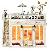 A1TOYS DIY Rumah Miniatur Angel Dream House (Merchant) - 3d Puzzle