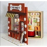 A1TOYS DIY Rumah Miniatur Art & Craft Pet World (Merchant) - 3d Puzzle