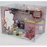 A1TOYS Dollhouse DIY Bar Hello Kitty [HK] (Merchant) - 3d Puzzle