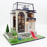 A1TOYS Dollhouse DIY Rumah Planetarium [LPP] (Merchant) - 3d Puzzle