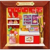 A1TOYS Miniature House DIY Art And Craft Candy Room Pigura (Merchant) - 3D Puzzle