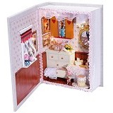 A1TOYS Miniature House DIY Girlfriends Diary Art And Craft  (Merchant) - 3d Puzzle