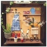 A1TOYS Miniature House DIY Pigura 3 Dimensi Art & Craft The Garden Corner (Merchant) - 3d Puzzle