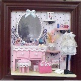A1TOYS Rumah Rumahan DIY Art & Craft Pink Luxury (Merchant) - 3d Puzzle