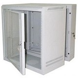 "ABBA Package E 19"" Wallmount 12U-490mm - Grey - Rack System Wallmount"